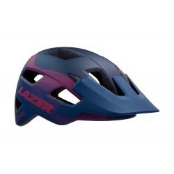 casco Lazer Chiru Matt Blue Pink