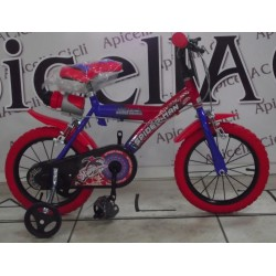 "bici 14"" Spiderman"