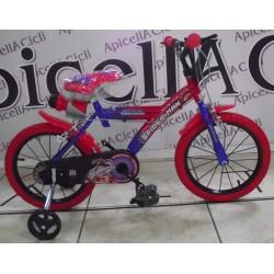 "bici Spiderman 16"""