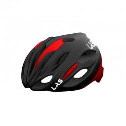 casco LAS Cobalto nero/rosso