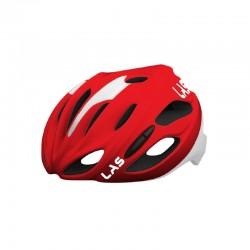 casco LAS Cobalto rosso/bianco