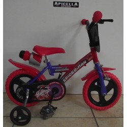 """Bici 12"""" Spider-Man"""